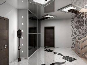Прихожие в коридор в стиле хай-тек