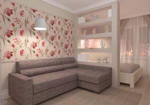Как выполнить зонирование гостиная-спальня