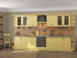 Кухня из сосны