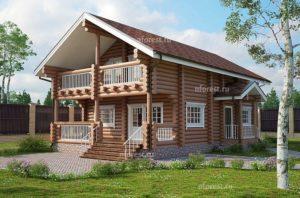 Как создать проект оригинального финского дома из дерева