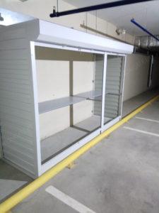 Шкаф в парковку роллетного типа
